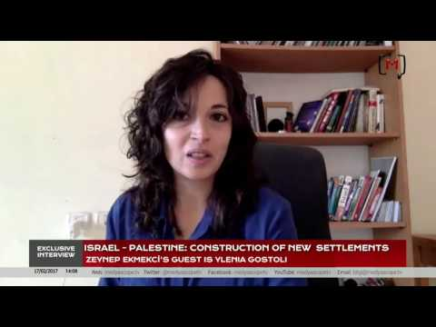 Exclusive Interview: Israel-Palestine Construction of New Settlements with Ylenia Gostoli
