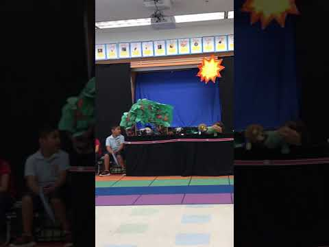 Lampson elementary school read puppet show