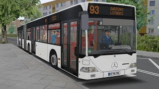 OMSI 2. Map Pobarowo, Line 93, Mercedes-Benz O530 G. Part 1