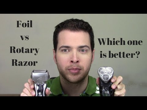 Rotary Vs Foil Razor - Which Should You Buy?