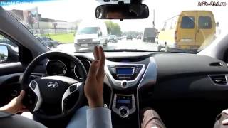 Hyundai Elantra Тест драйв Anton Avtoman смотреть