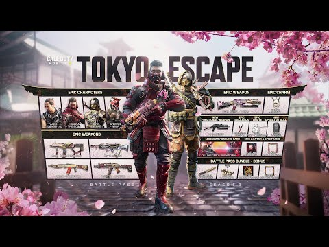 Call of Duty®: Mobile - Season 3 Tokyo Escape   Battle Pass Trailer