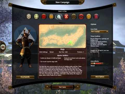 "Shogun 2 Total War: Hattori Campaign - ""Clans of Japan"" Ep1 |"