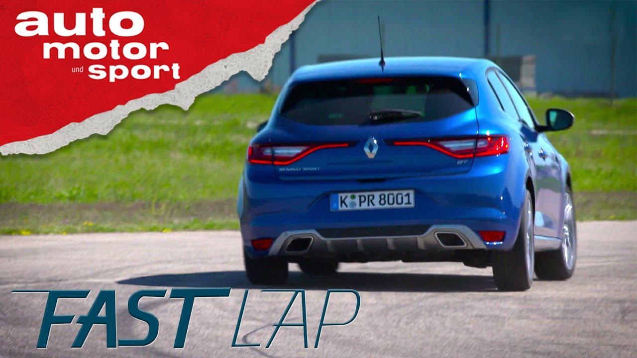 Renault Mégane GT: Das blaue Wunder erleben - Fast Lap   auto motor ...