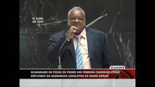 Posse do deputado estadual Pedro Ivo Ferreira Caminhas