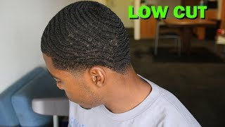 How to make 360 Waves Look Good with a Low Haircut