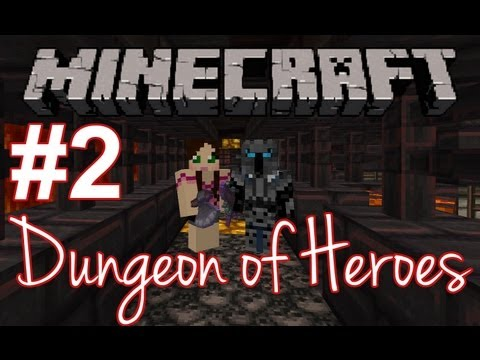 Minecraft: Dungeon Of Heroes - Is this it?! - Part 2