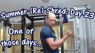 One of those days... | Arm Workout | Summer (Re) Shred Ep. 23