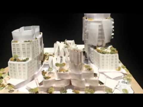 Gehry unveils design for mixed-use development on LA