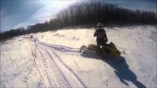 Ski Doos Getting Stuck!