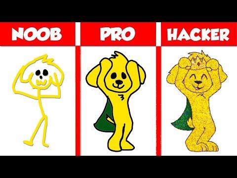 ¡TROLLEANDO A LOS COMPAS CON HACKS! 😱😂 MIKECRACK: NOOB vs PRO vs HACKER EN PINTURILLO 2 #8