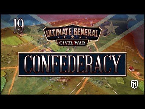 Protect the Railroad! | Confederate Campaign #19 - Ultimate General: Civil War