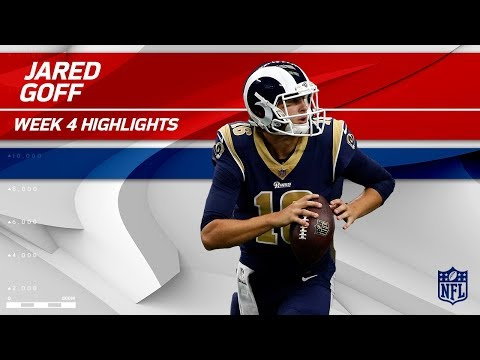 Jared Goff Leads the Winning Charge vs. Dallas! | Rams vs. Cowboys | Wk 4 Player Highlights