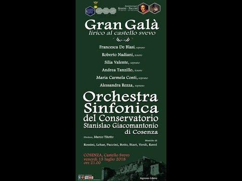 Stagione concerti 2018 - Gran Galà lirico 13/07/2018