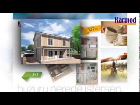 Villa préfabriquée, Maisons 2 étages personnalisées, Chalets - YouTube