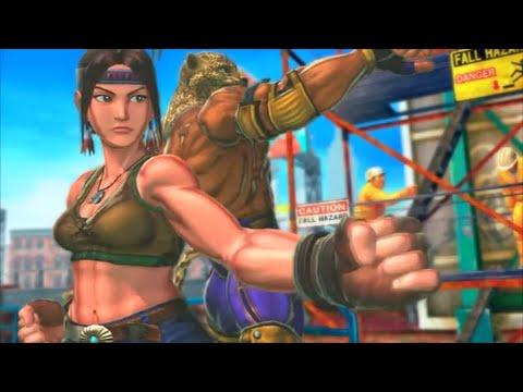 Street Fighter X Tekken - Survival Challenge (King and Julia)