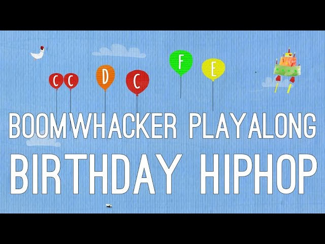 Happy Birthday Hiphop Boomwhackers Youtube