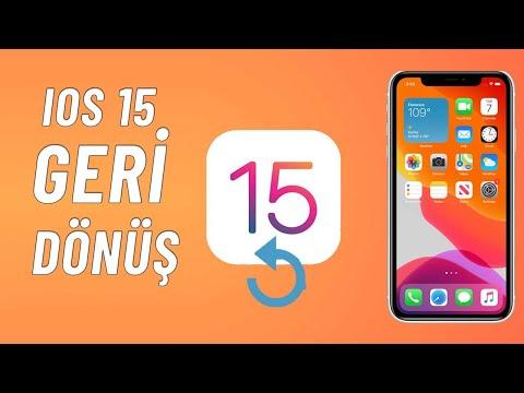 iOS 11'den iOS 10 geri dönüş rehberi ! iOS 10 nasıl geri yüklenir.