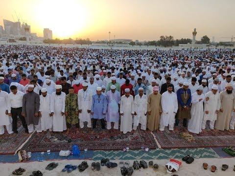 Muslims Across UAE Offer Eid Al Fitr Prayers
