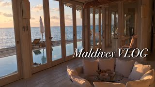 Maldives [Soneva Jani] Resort - A resort on the sea /Travel VLOG /water slide pool villa/Honeymoon