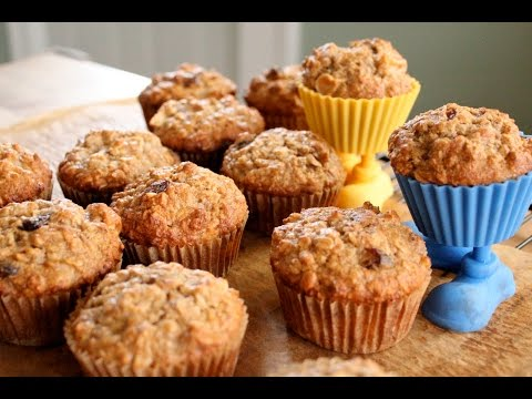 OATMEAL APPLESAUCE MUFFINS  DIABETIC | QUICK RECIPES | EASY TO LEARN