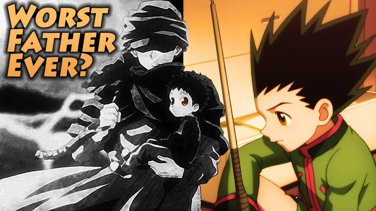 gon meet his father hunter x