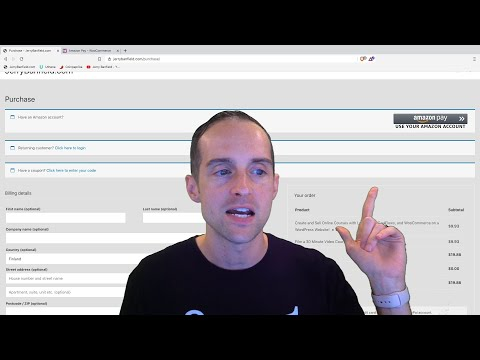 How to Accept Amazon Payments with WooCommerce on WordPress! thumbnail