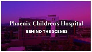 Phoenix Children's Hospital - The Child Life Zone - Behind the Scenes