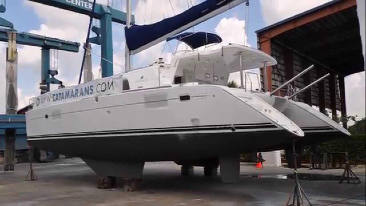 Lagoon 440 Catamaran walkthrough presentation with look ...