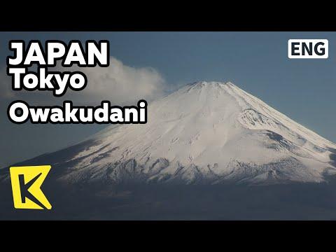 【K】Japan Travel-Tokyo[일본 여행-도쿄]지옥의 계곡에서 바라본 '후지산'/Owakudani/Cable car/Ropeway/Valley of Hell