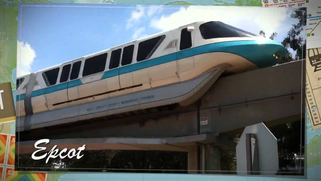Disney World Monorail Montage August 2011 Youtube