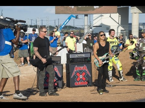Metallica Shred National Anthem at X Games