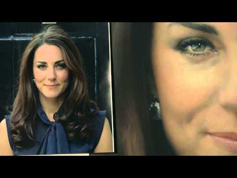 The first portrait of The Duchess of Cambridge is unveiled