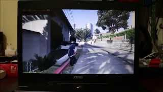Review GTA V Gameplay on laptop | 1080p 60fps | MSI GS70 2QE