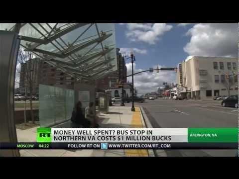Arlington: Home Of $1 Million Bus Stop