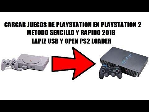 PS2 | CARGAR JUEGOS DE PS1 EN PS2 POR USB, METODO FACIL Y