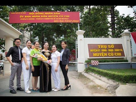 Trương Thị Ngọc Ánh dự hội nghị ở Củ Chi