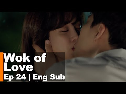 Lee Jun Ho Kisses Jung Ryeo Won!!! [Wok of Love Ep 24]