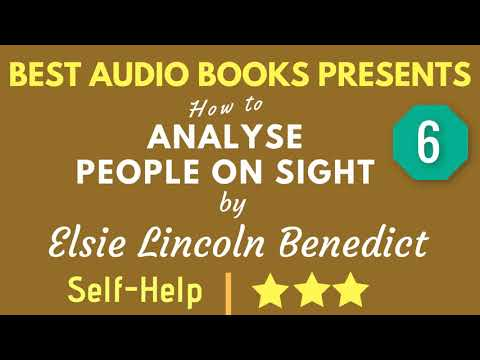 How To Analyse People On Sight Chapter 6 by Elsie Lincoln Benedict Mp3