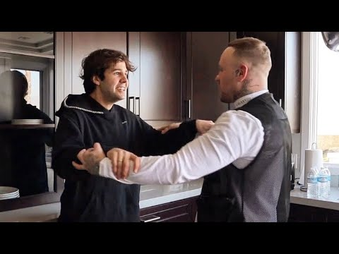 DAVID DOBRIK KICKS ME OUT OF HIS HOUSE FOR READING HIS MIND 😂