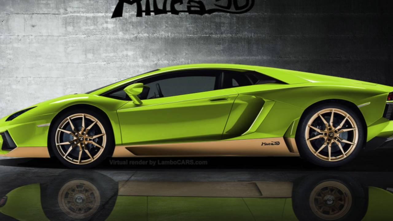 Lamborghini Aventador Miura Homage For Sale Youtube