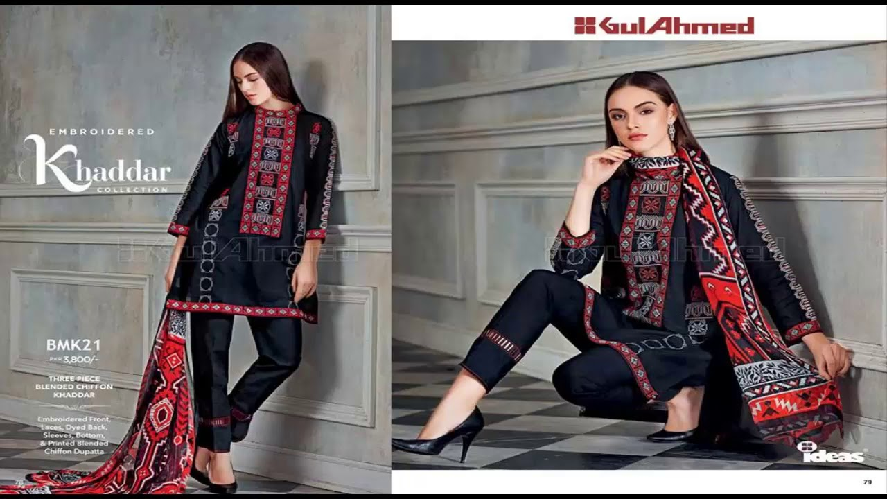 deb3119244 Gul Ahmed Introducing Latest AutumnWinter Collection 2018 - YouTube