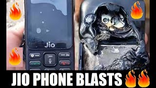 JIO 4G Phone Blasts in Kashmir while Charging - Biker Aman