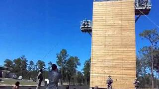 7th Special Forces Unit Repelling Demo