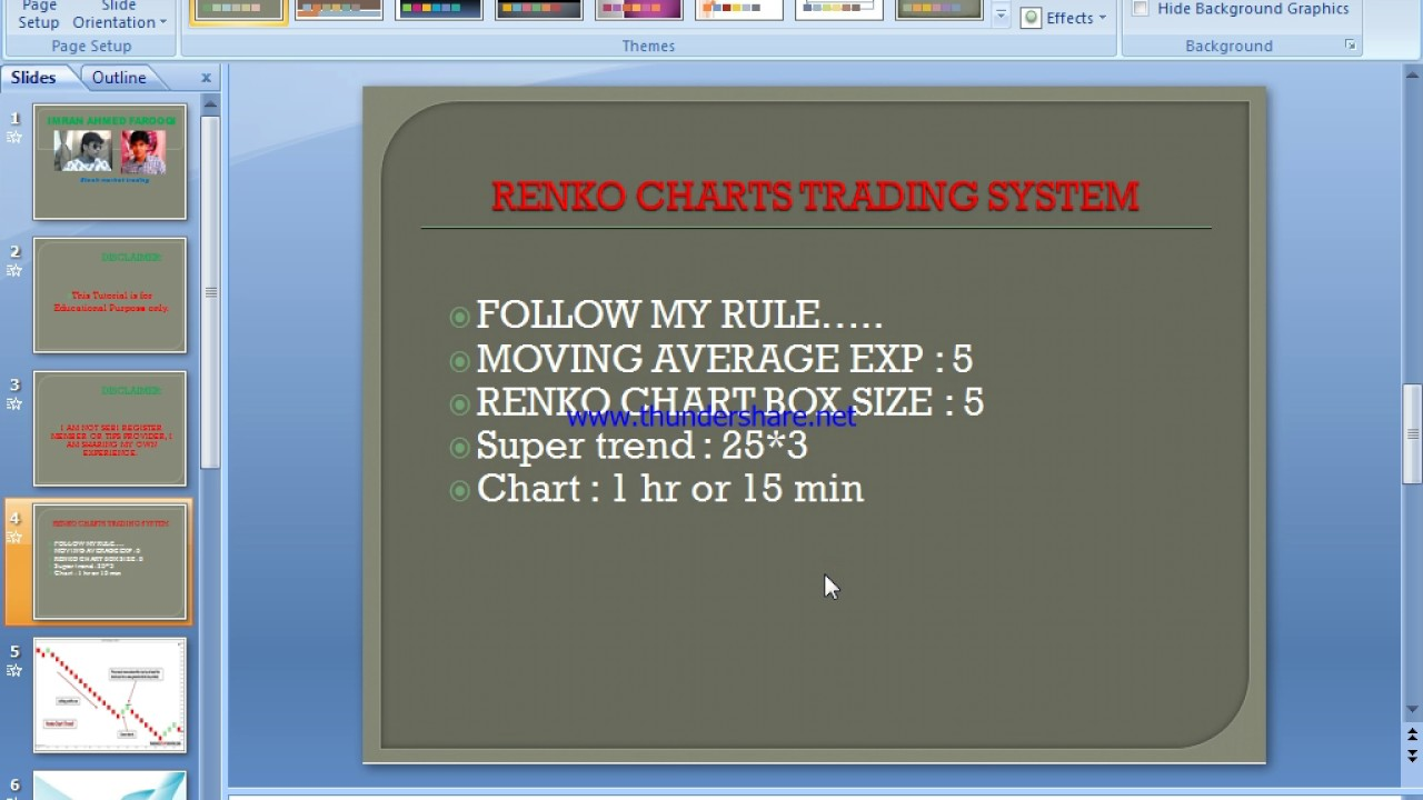 Improvised Renko strategy with 2 Major indicators with 100% buy sell signal  in ENGLISH