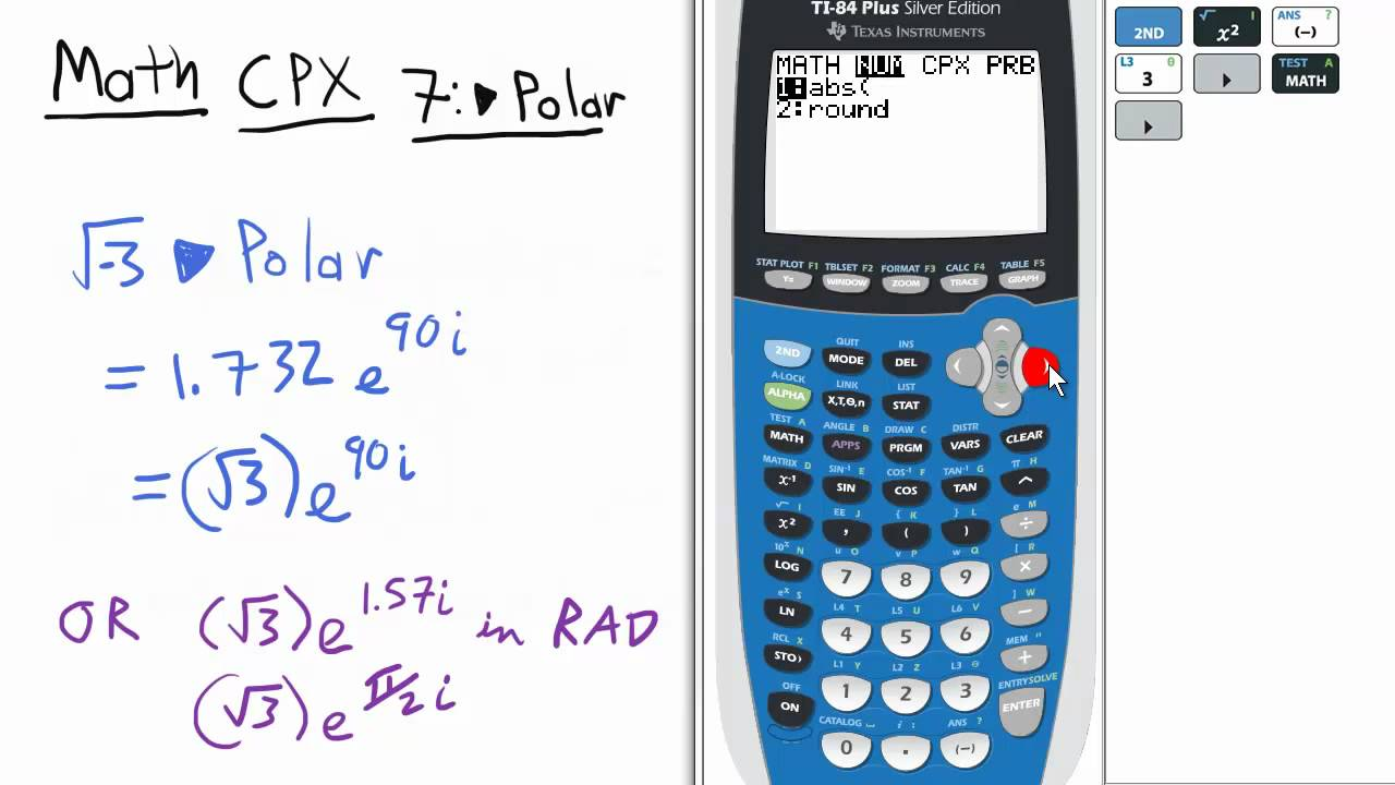 Algebra standard form calculator image collections standard form polar or trig form of a complex number ti 84 calculator youtube falaconquin falaconquin