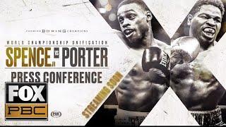 Errol Spence Jr. vs Shawn Porter | PRESS CONFERENCE | PBC ON FOX