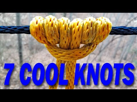 7 KNOTS that are Useful, Amazing & Interesting
