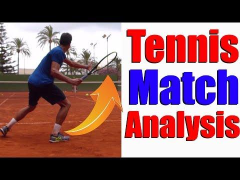 Tennis Singles Strategy | Simon vs ATP Pro On Court Analysis
