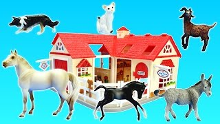 Farm Animals Hospital Care Station Breyer Playset Build Review For Kids